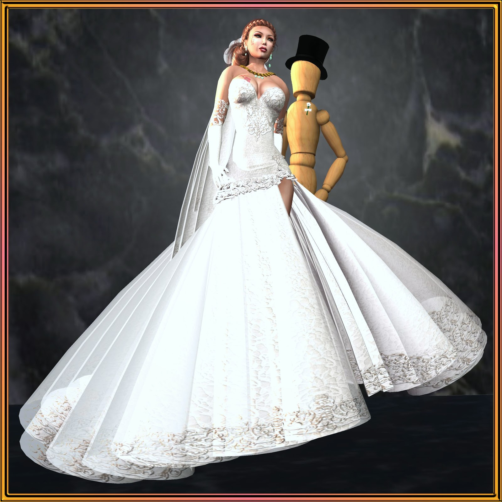 caryn Ashdene\'s Second Life Experience: Wedding Gowns and Lingerie ...
