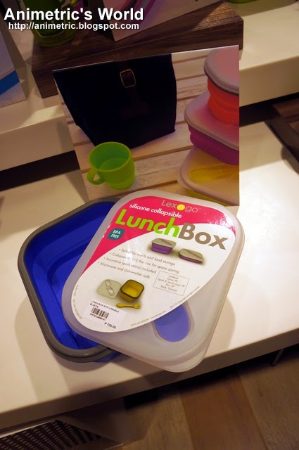 Lex N Go Silicone Collapsible Lunch Box