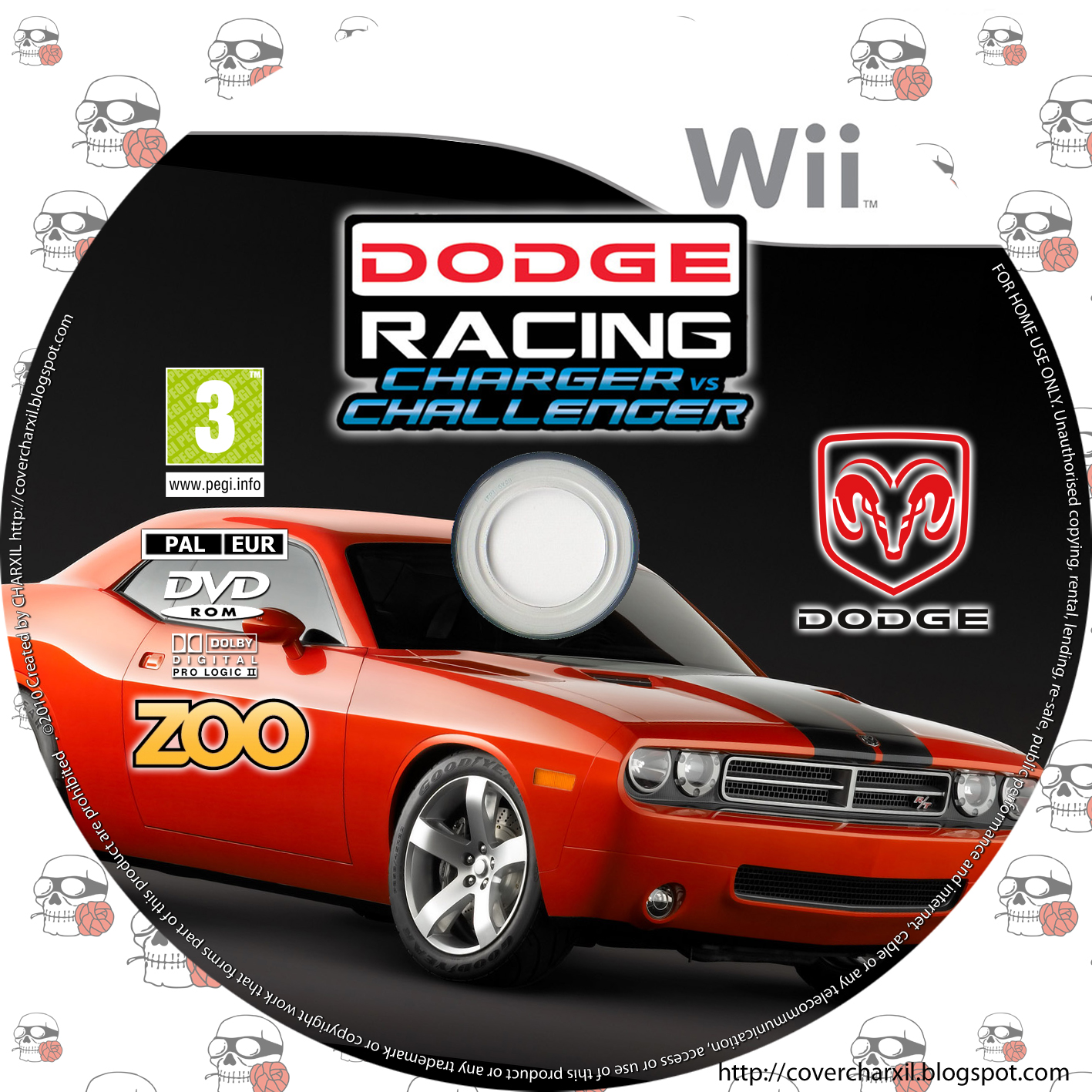 Dodge Racing: Charger vs Challenger (wii)