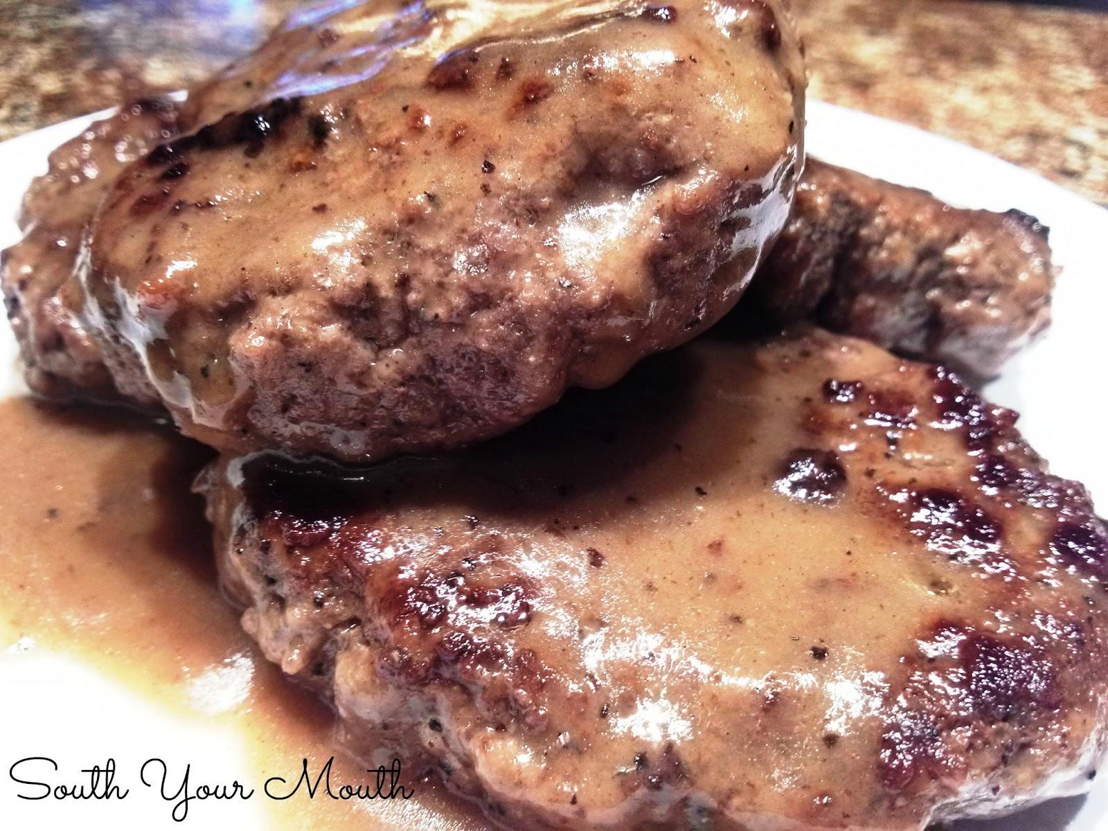 Hamburger Steaks: