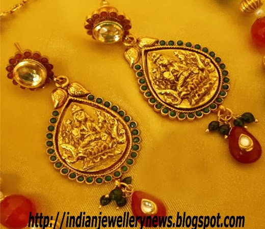Kundan Set Temple Jewellery