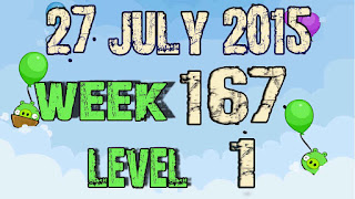 Angry Birds Friends Tournament level 1 Week 167