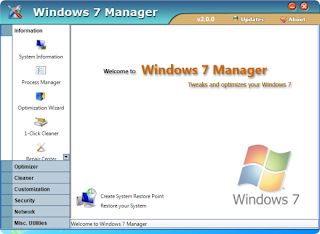 Yamicsoft Windows 7 Manager v2.1.6 Incl Keymaker-CORE