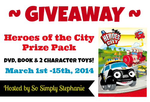 Heroes of the city giveaway