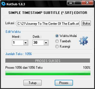 Kumpulan Software Edit Subtitle Film Agar Tepat Timing | Download Gratis