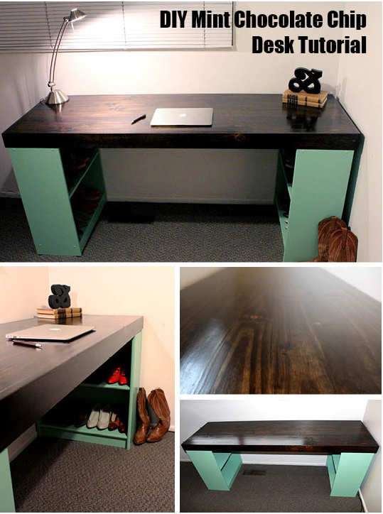 DIY desk tutorial