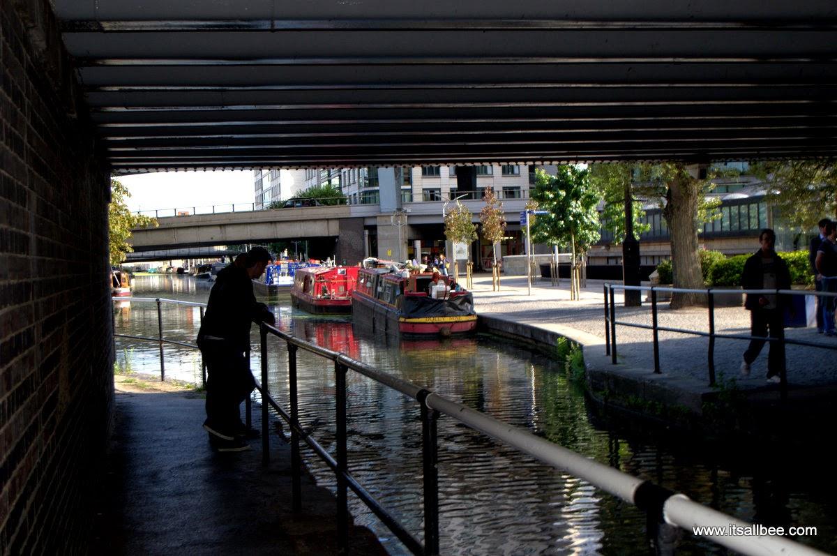 Grand Canals Little Venice London Warrick Avenue Paddington