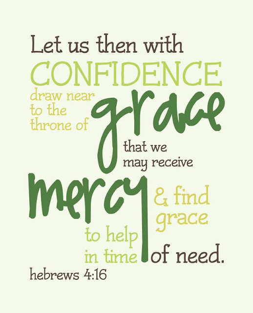 my messy manger free printable scripture hebrews 4 16