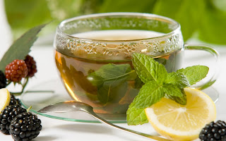 Minty Lemon Tea