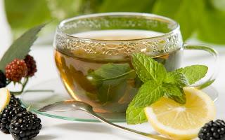 Minty Lemon Tea