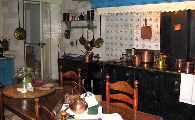 cucina casa museo Van Loon Amsterdam