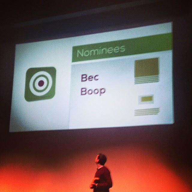 Bec Boop Galway Marketing Awards
