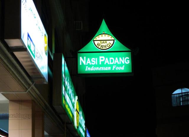 Nasi Padang Indonesian Food