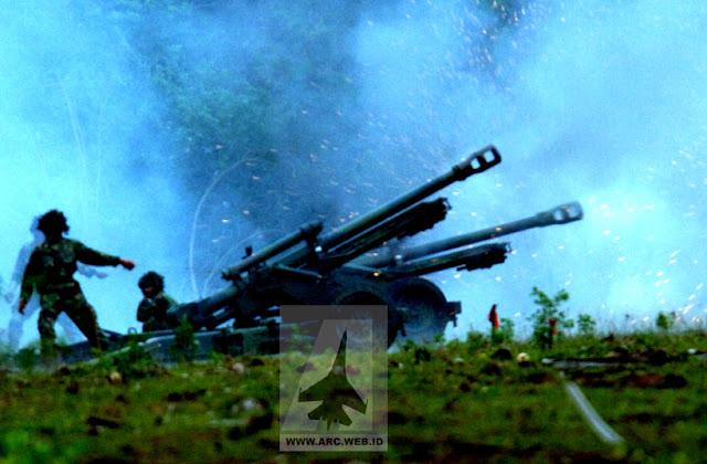 Uji tembak LG-1 di Perancis