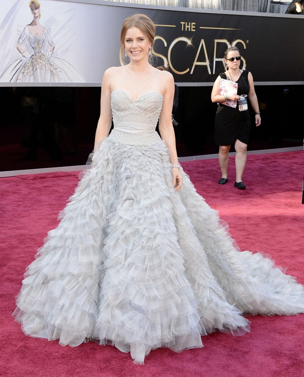 Amy Adams - Celebrity Fashion at the 2013 Oscars
