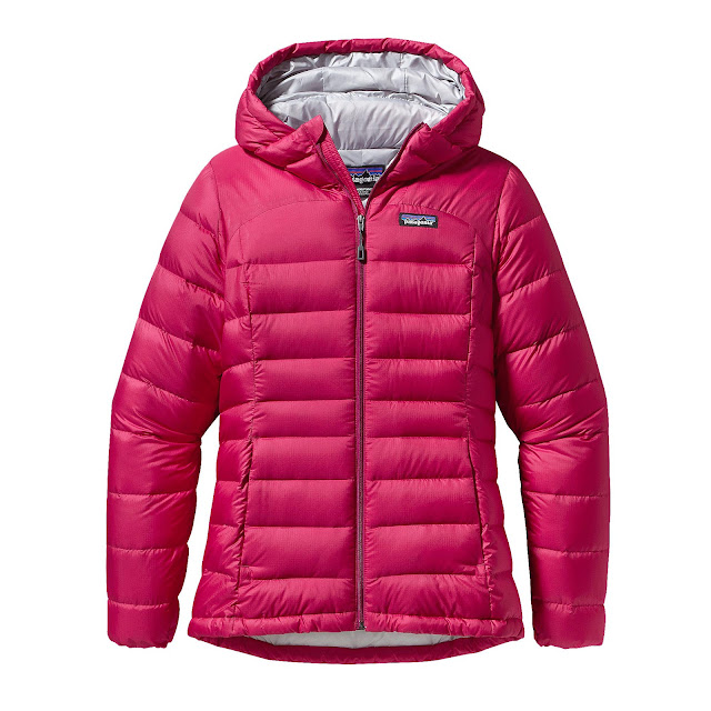 patagonia hi loft down sweater hoody on sale pink