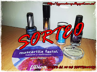 "Sorteo en el blog ""Make-up & Beauty"""
