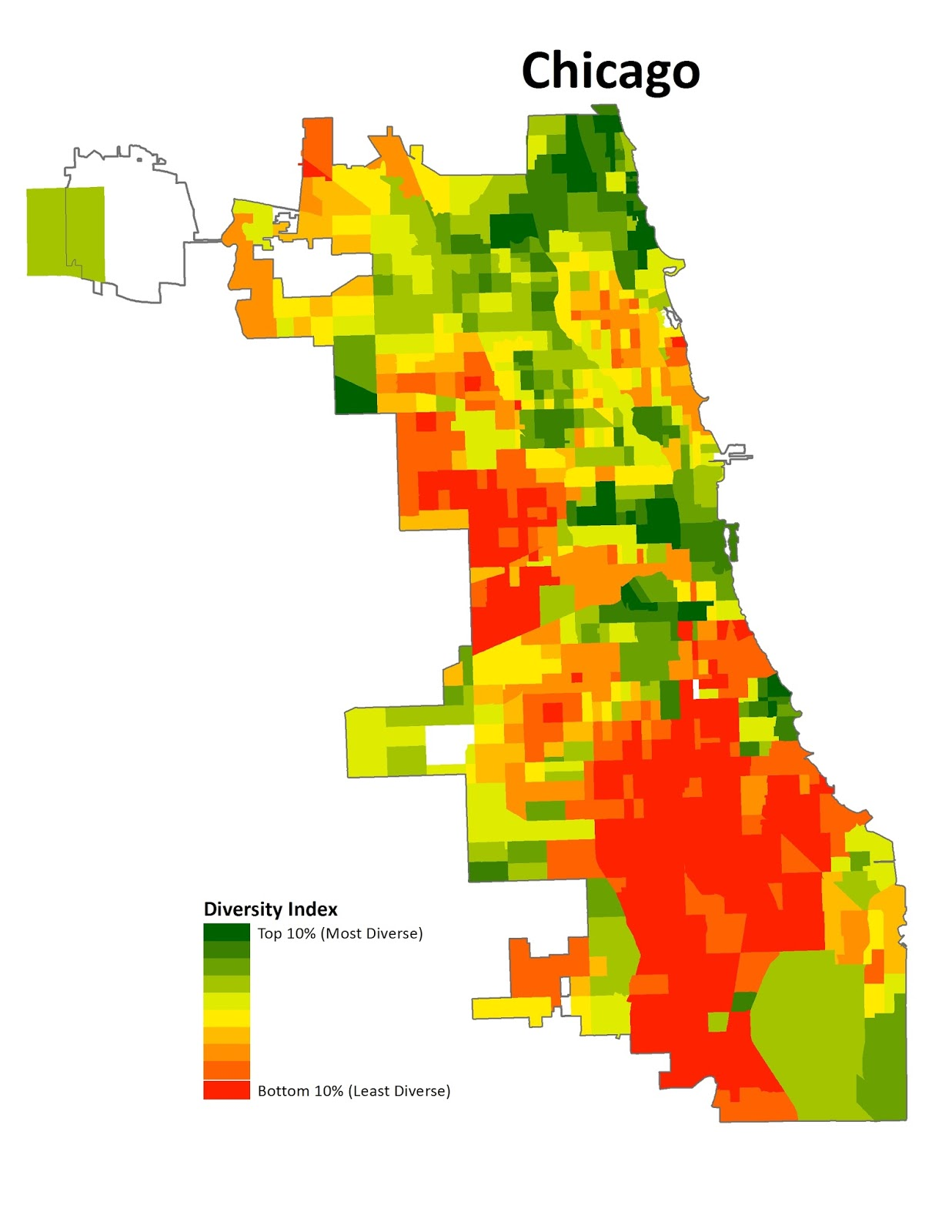 Chicago Map Bad Areas