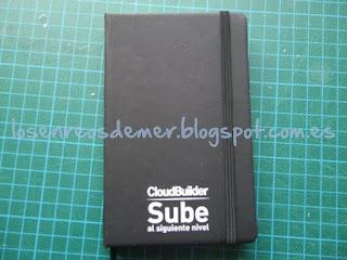 Cuaderno tipo Moleskine