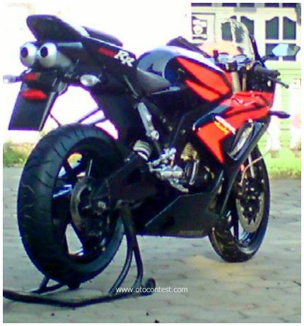 Modifikasi Jupiter Mx Full Crom