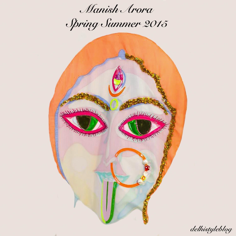 Manish Arora Spring Summer 2015 Goddess Kali