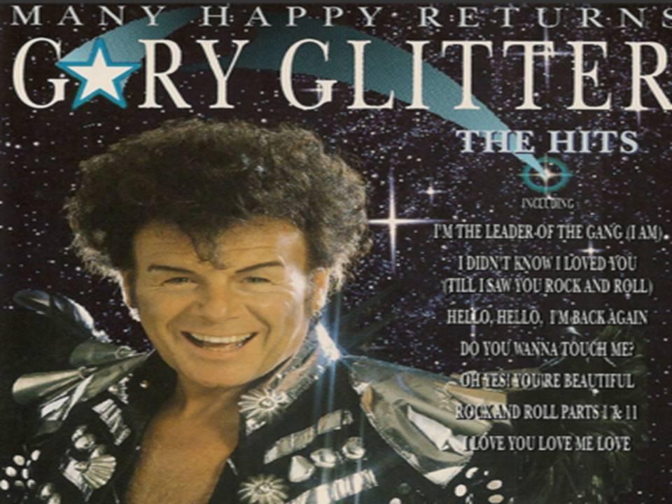 Gary Glitter Many Happy Returns