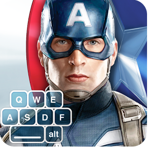 Captain America: TWS Keyboard v1.0