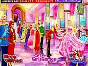 Barbie ở bữa tiệc hoàng gia, game tre em