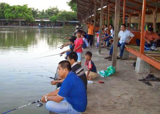 Peluang Usaha Kolam Pemancingan Ikan