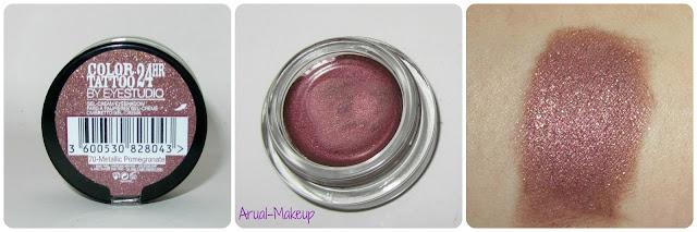 Color Tatto 24hr 07 Metallic Pomegranate