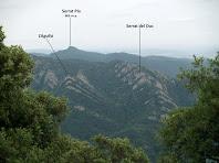 Vistes sobre el sector meridional de la Serra de Picancel