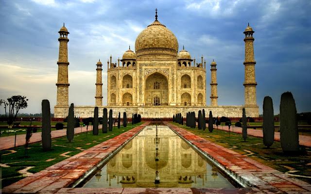 Fotos del Taj Mahal Monumento Historico de la India