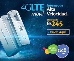 INTERNET 4G LTE TIGO BOLIVIA