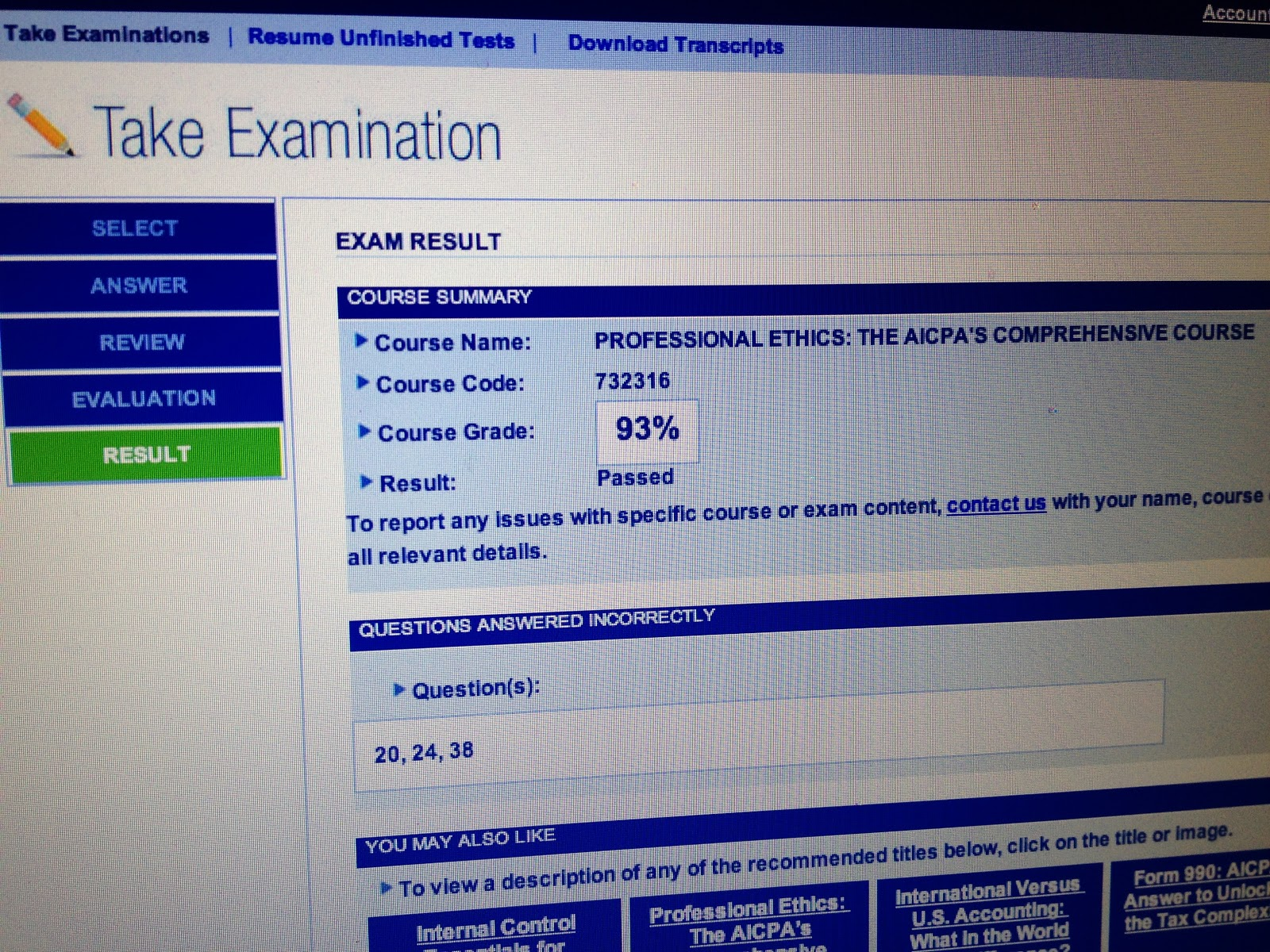 cpa exam test with answers Answer: cpa exam provided by pass-guaranteedcom offer a 100% full money back guarantee if you do not pass the cpa exam which rarely occurs the cpa test questions and answers come with a full 100 .