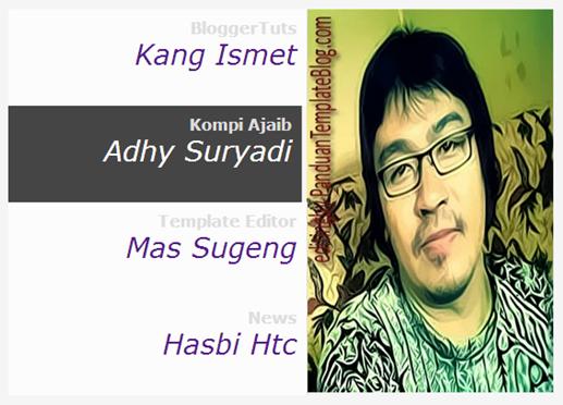 Memasang Blogroll Link Dengan Gambar Profil Blog