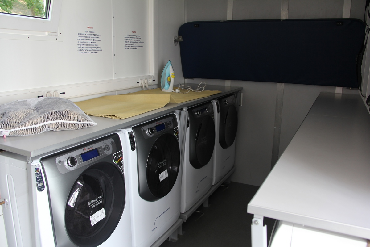 мобільний лазне-пральний комплекс