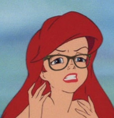 The Best Of Hipster Little Mermaid Seen On www.coolpicturegallery.us