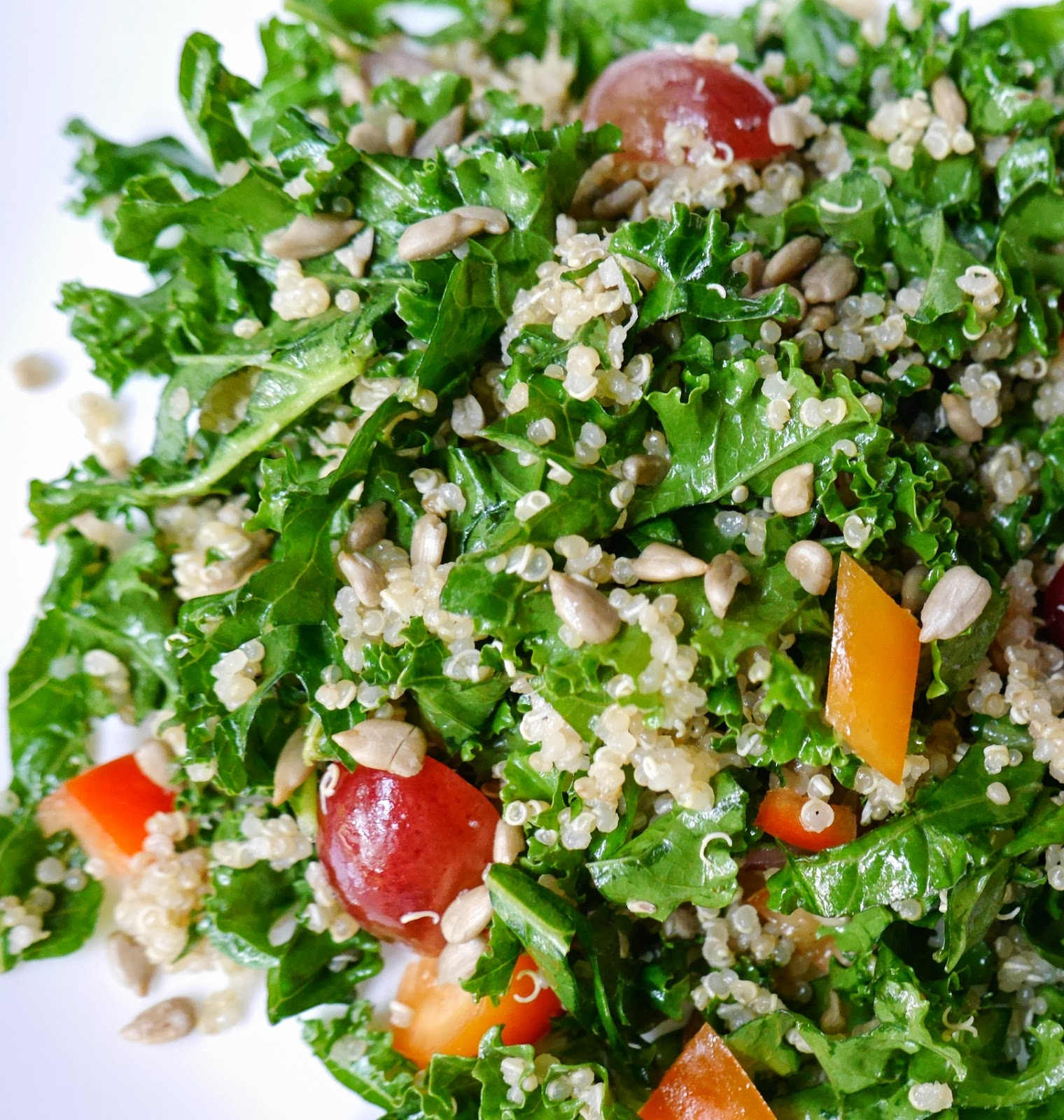 Quinoa And Mixed Veggie Salad (GF, V) Recipes — Dishmaps