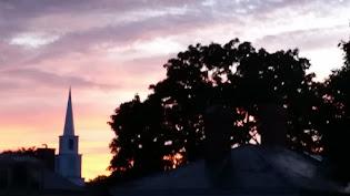 A glorious dawn.