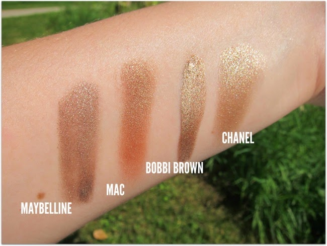 Swatches Simple, One-Step Bronzey Summery Eye
