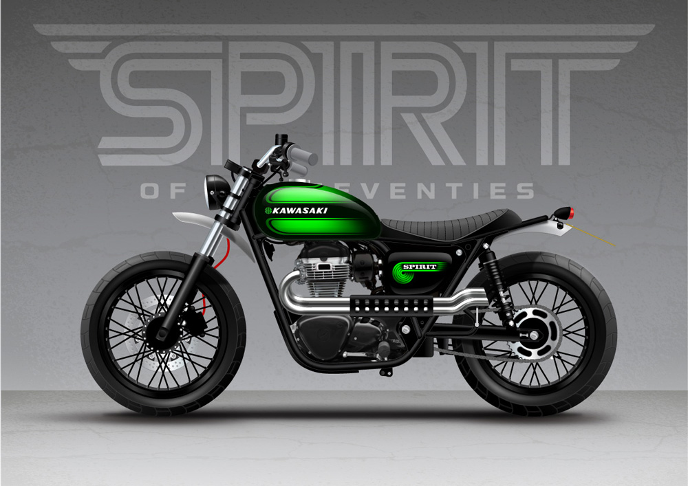 Kawasaki W800 By Spirit Of The Seventies