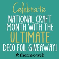 Happy National Craft Month!
