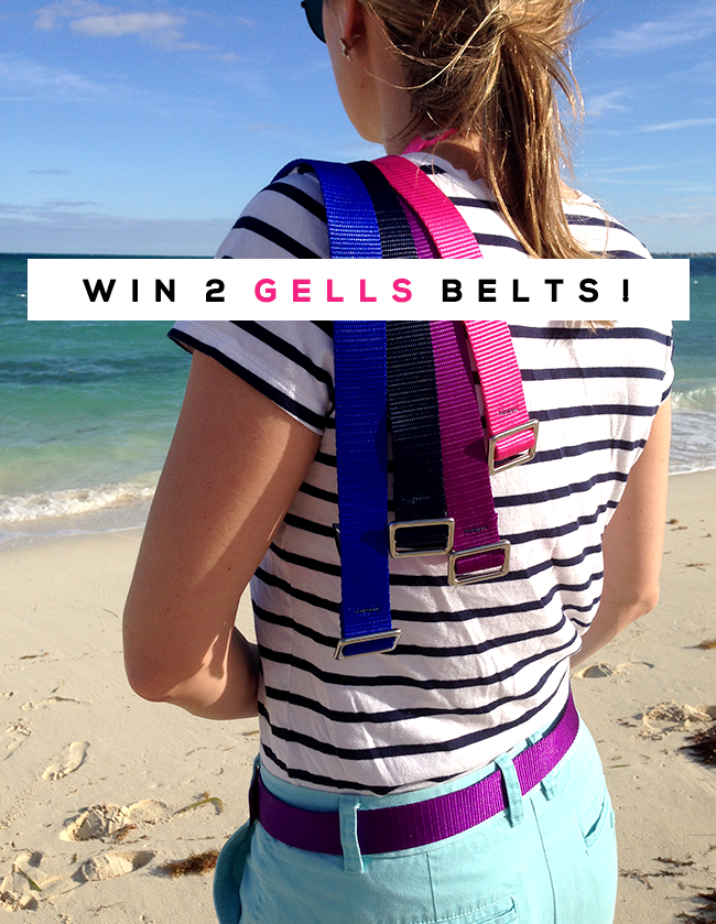 GIVEAWAY: Win Two Belts from Gells and Bubby & Bean!