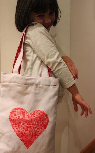 bolsa corazón san valentín