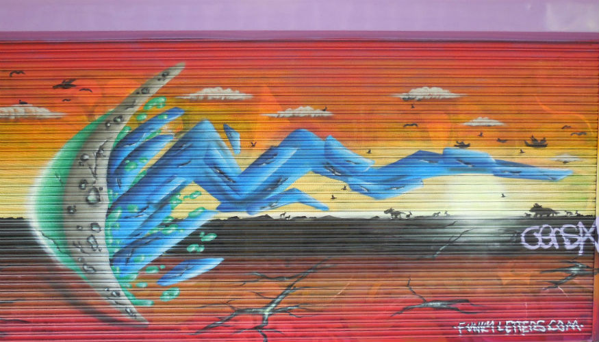 st georges walk vandali street art