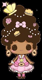 doodle fashionista, doodle girl