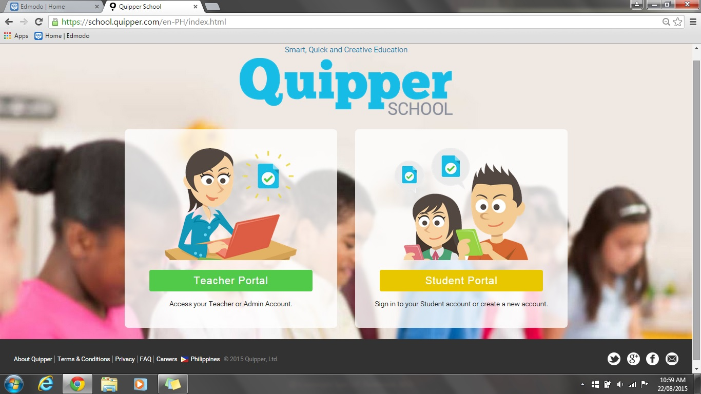 Edmodo vs quipper school quipper school stopboris Gallery