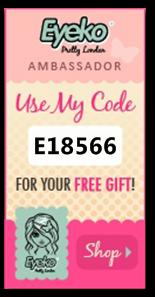 Eyeko Code Ambassador: E18566
