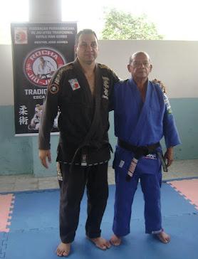 Sensei Sergio Rocha e Mestre Ubiratan Cordeiro
