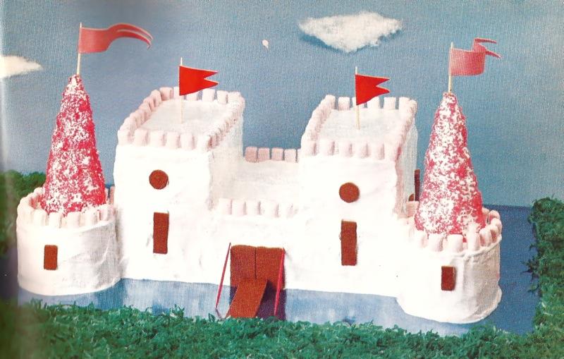 wacky tacky castle cake